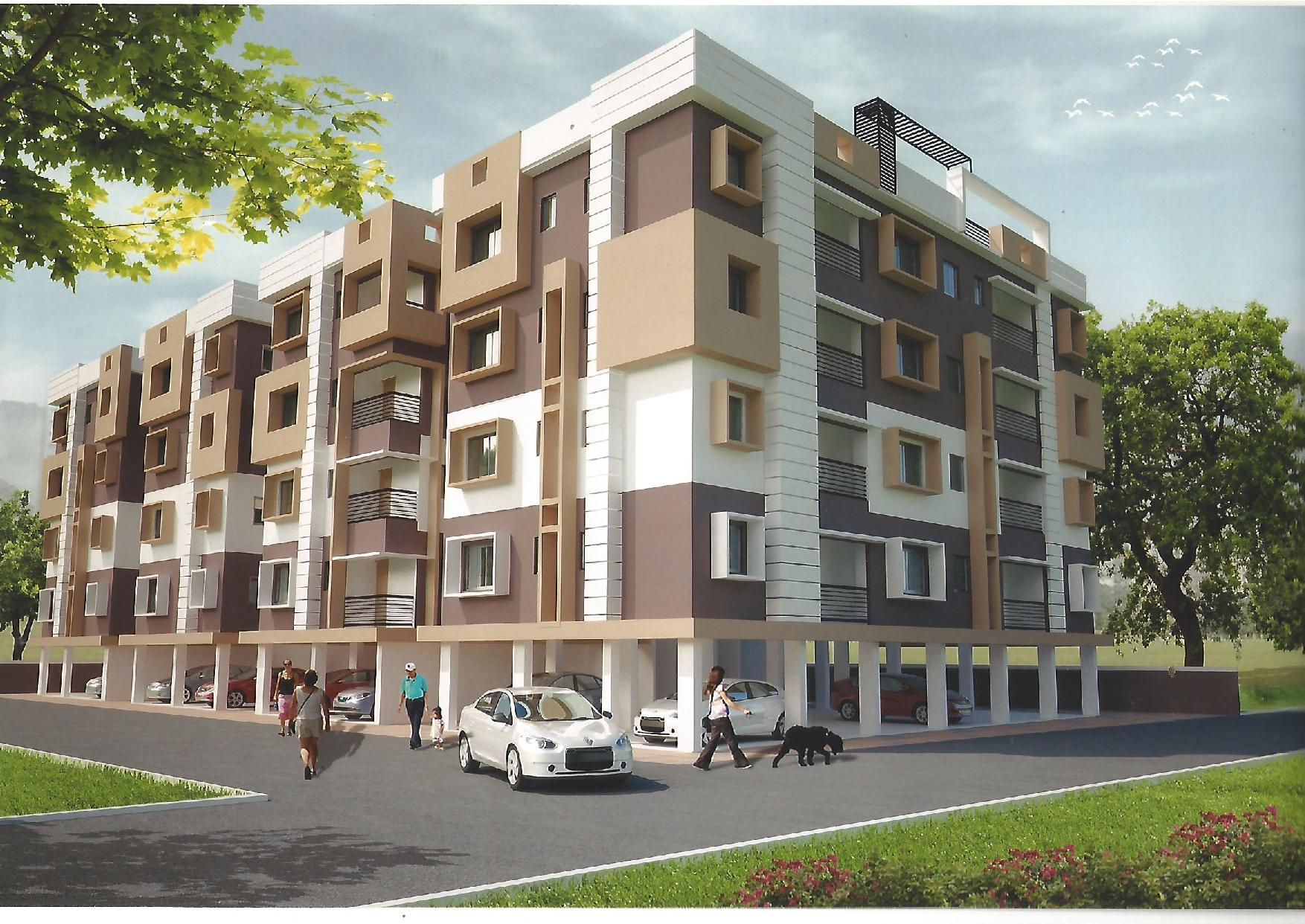 982 Sqft 2 BHK Residential Apartment Available At Siliguri